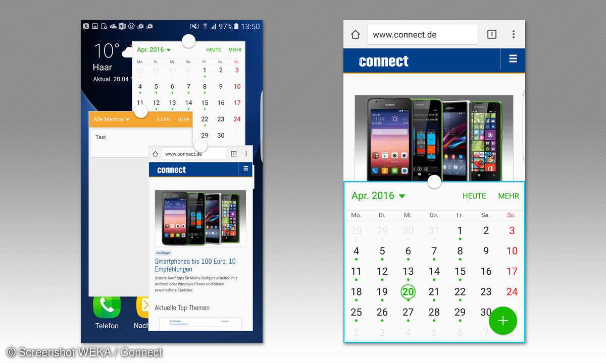 Galaxy S7 Multitasking