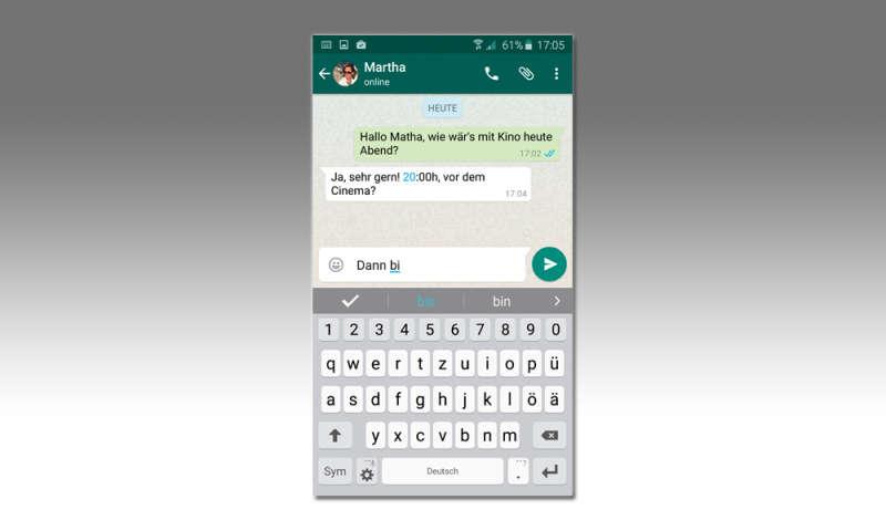 wiko handy whatsapp