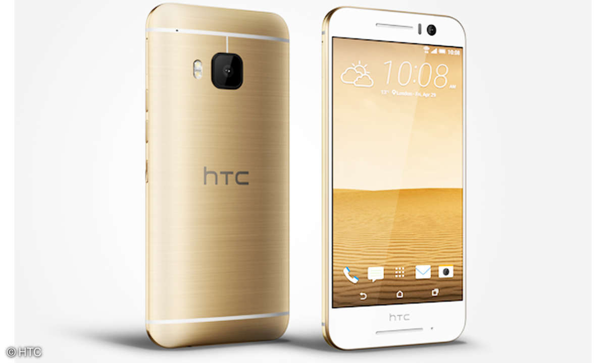 HTC One S8 in Gold