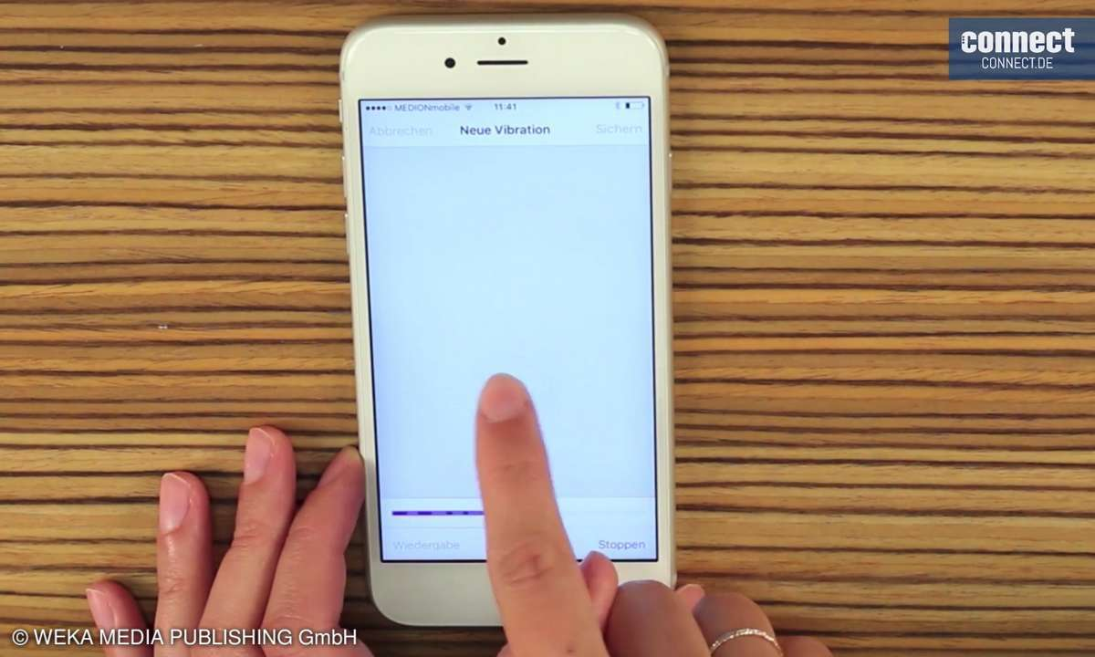 iPhone Kurztipp Vibration Muster Klingelton
