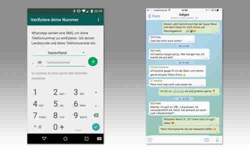 Whatsapp smalltalk Live chat