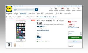 Apple iPhone 5S bei Lidl