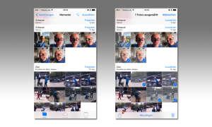 Bilder aus der Foto-App aussuchen