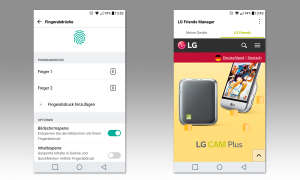 Screenshots LG G5