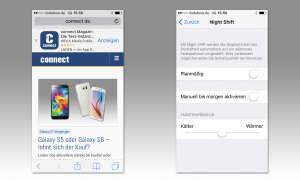 Screenshots iPhone