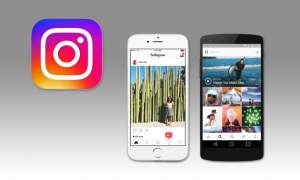 Instagram Design und Logo