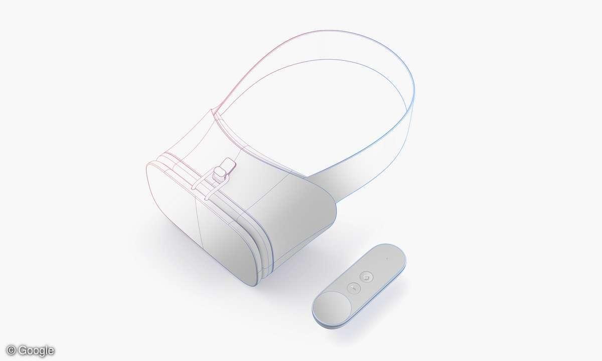 Google VR Headset Referenzdesign
