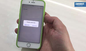 iOS iPhone Eingabe widerrufen Screenshot Video-Tipp