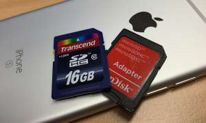 SD-Card iPhone Transcend SanDisk
