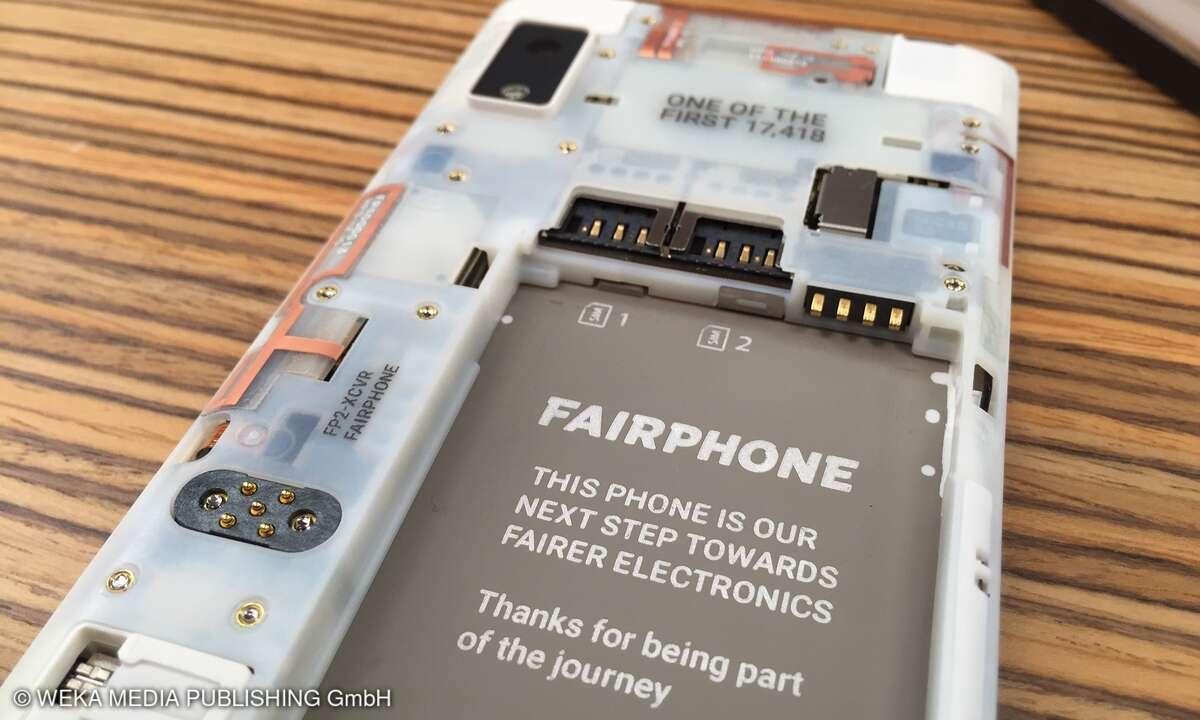 Dual-SIM Fairphone2 Akku fair Smartphone
