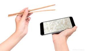 Smartphone aus China