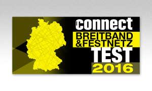 Festnetztest connect 2016 Logo