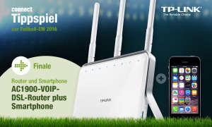 AC1900-VoIP-WLAN-DSL-Router von TP-Link