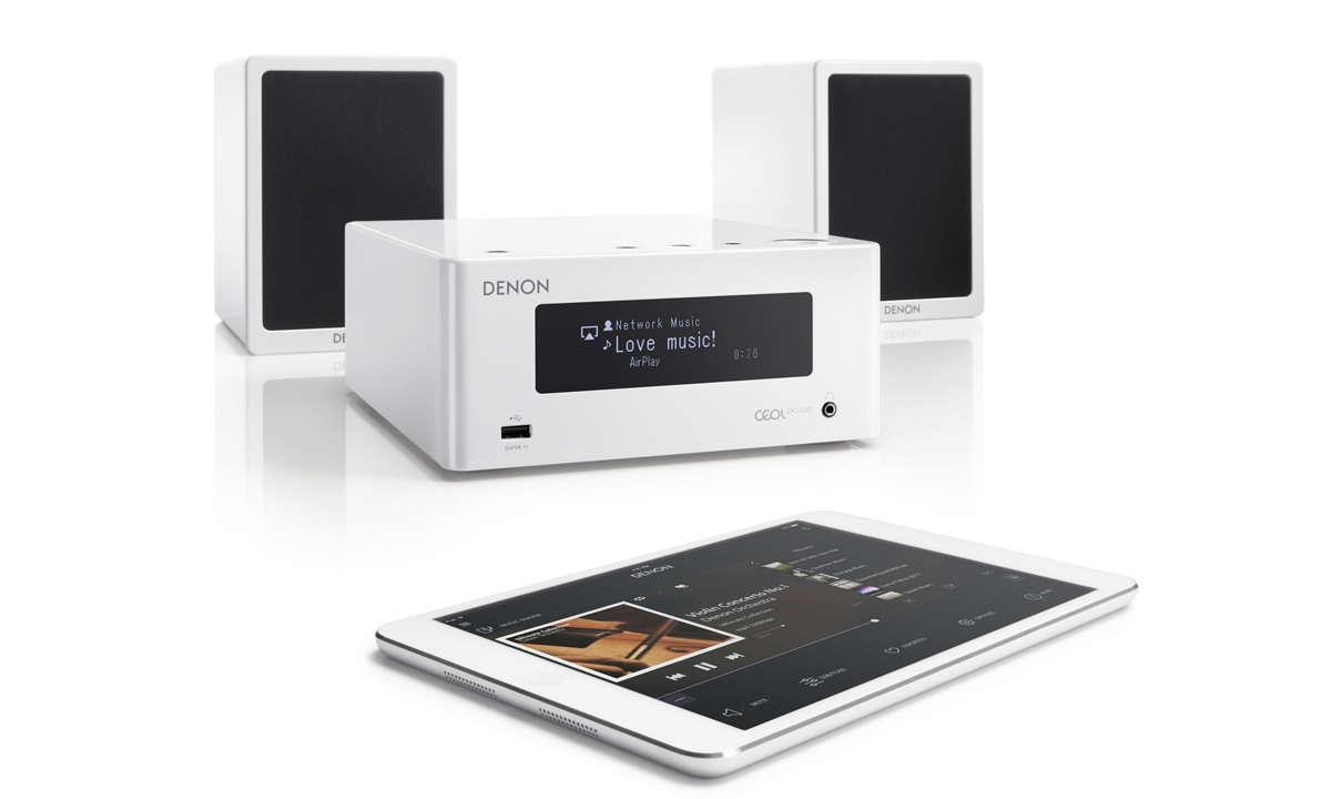 Denon CEOL N4 Tablet Boxen