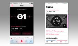 iOS 10 Musik App