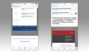 iOS 10 Mail App