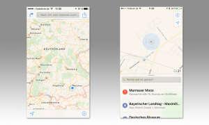 iOS 10 Karten App