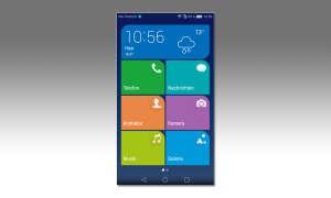 Huawei Startbildschirm