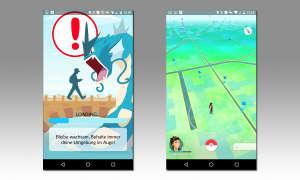 Pokémon GO - Kartenansicht