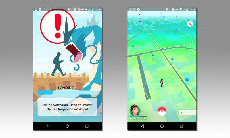 Nutzungsbedingungen Pokemon Go