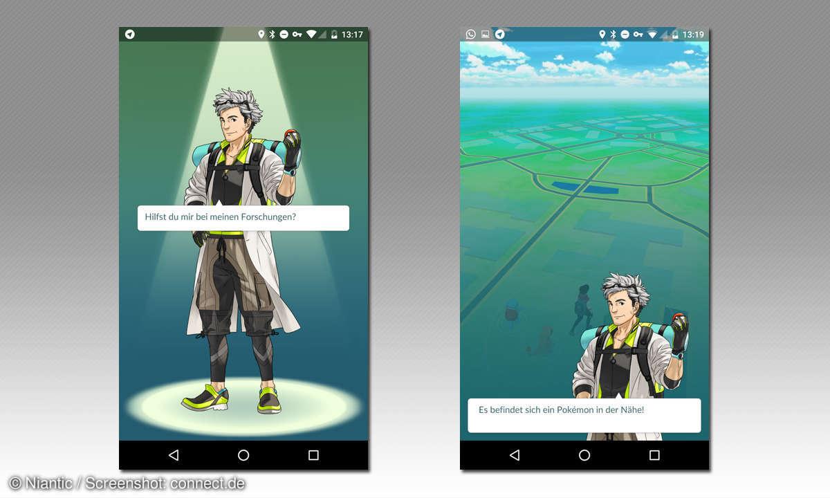 pokemon go tutorial professor willow