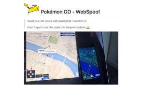 Pokémon GO WebSpoof