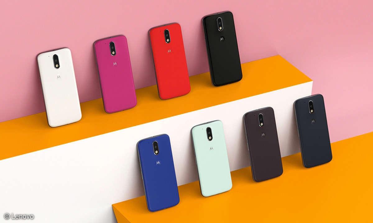 alle Farben des Lenovo Moto G4