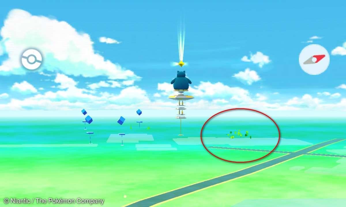 Pokemon Go Blätter Karte