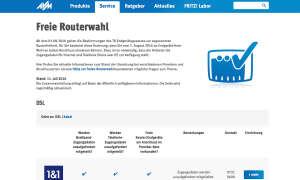 AVM Routerwahl