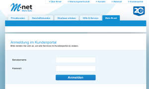 M-Net Kundenportal