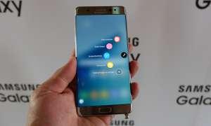 Samsung Galaxy Note 7 - Display Menü