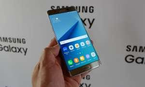 Samsung Galaxy Note 7  Frontseite