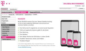 Telekom Tarife und Optionen