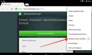 WhatsApp Desktop-Version
