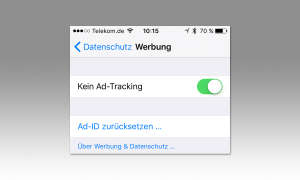 iOS Ad-Tracking