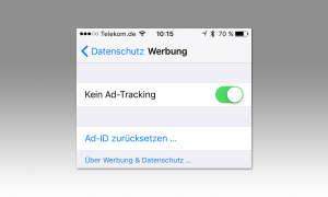 iOS Ad-Tracking