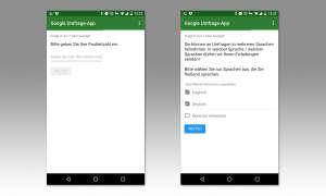 Google Umfrage-App Tipps
