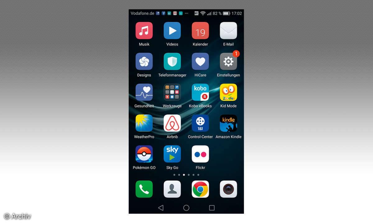 Huawei P9 Plus Screenshot