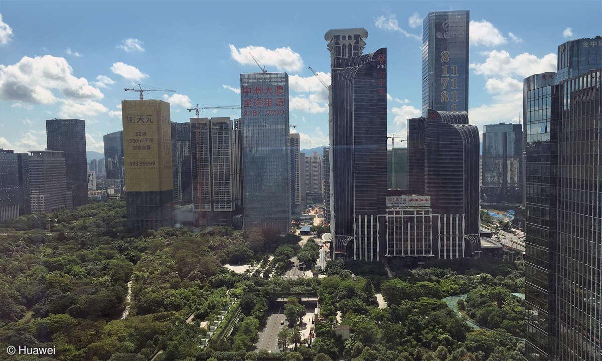 Huawei Shenzhen Skyline