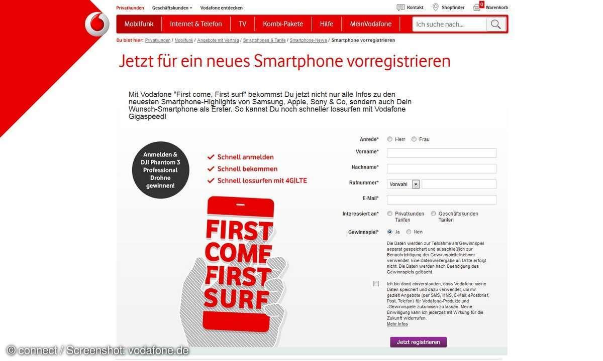 iPhone 7 vorbestellen Vodafone