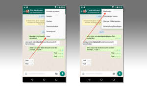 WhatsApp Android Kontakt blockieren