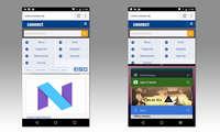 Screenshot Splitscreen-Funktion