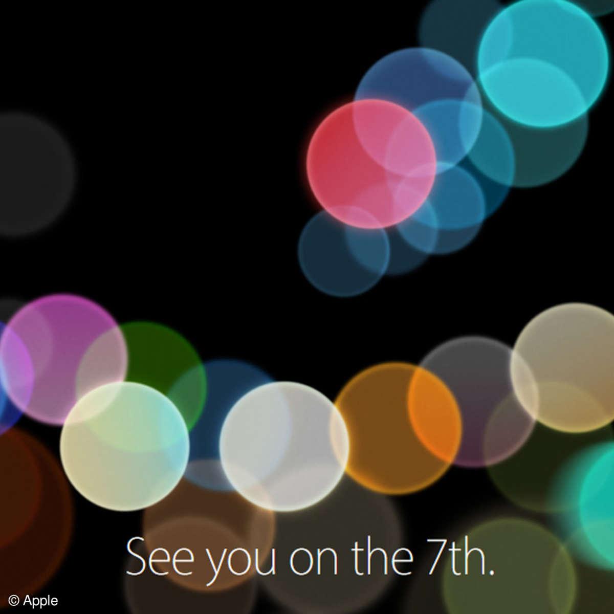 iPhone 7 Event