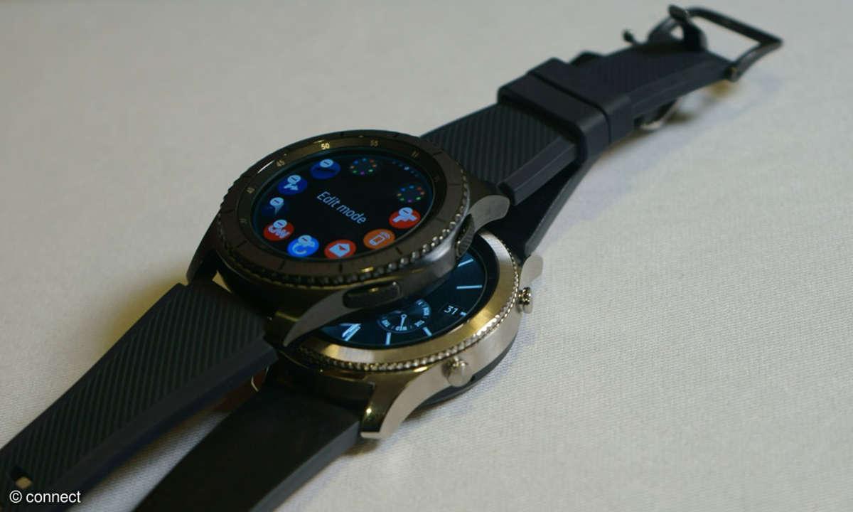 Samsung Smartwatch Gear S3 Produktfoto