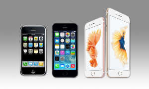 iPhone, iPhone 5s, iPhone 6s