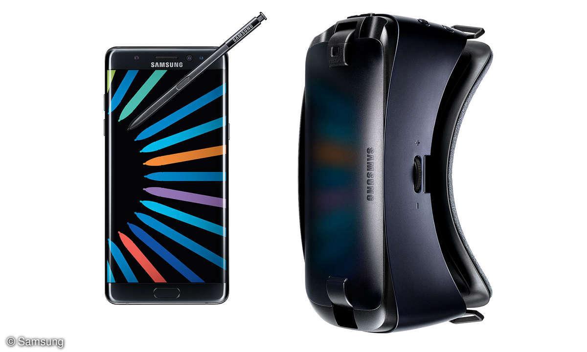 Galaxy Note 7 Gear VR