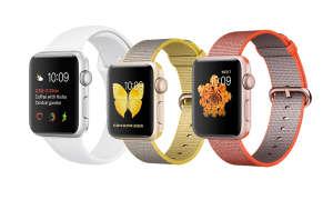 Apple Watch Series 2 mit Aluminiumgehäuse