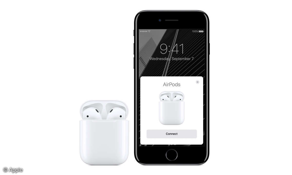 Apple iPhone 7 Plus und Apple AirPods