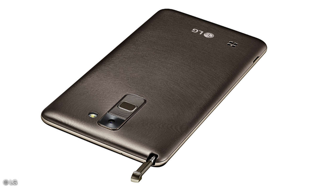 LG Stylus 2 mit Stift