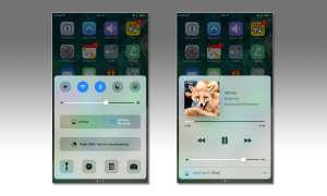 iOS 10 Kontrollzentrum